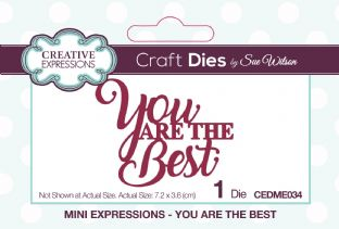Mini Expressions - You Are The Best